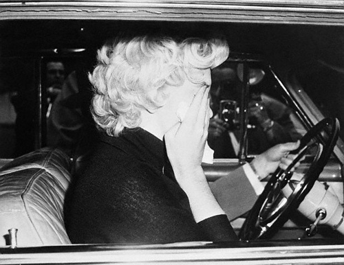 Marilyn Monroe Crying